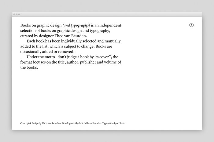 Books on graphic design (and typography) 2