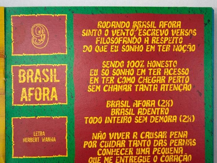 Brasil Afora by Os Paralamas do Sucesso 3