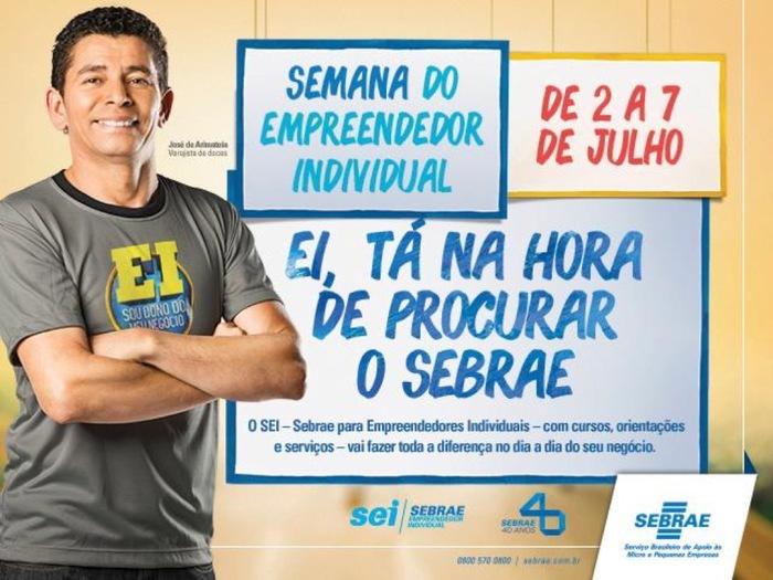 Semana do Empreendedor Individual, SEBRAE 2