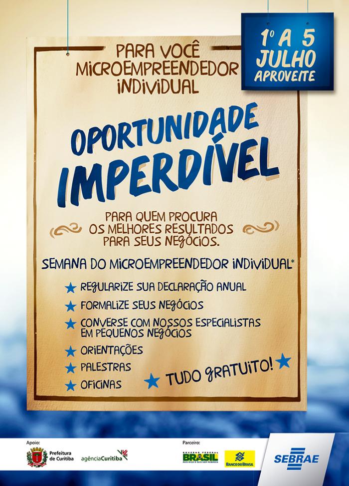 Semana do Empreendedor Individual, SEBRAE 4