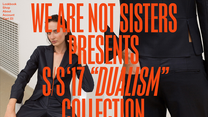 We Are Not Sisters website 1