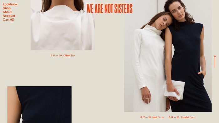 We Are Not Sisters website 3