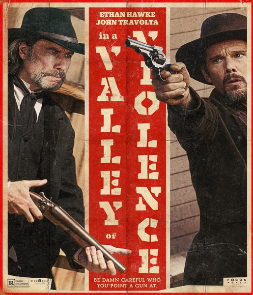 In a Valley of Violence movie posters 2