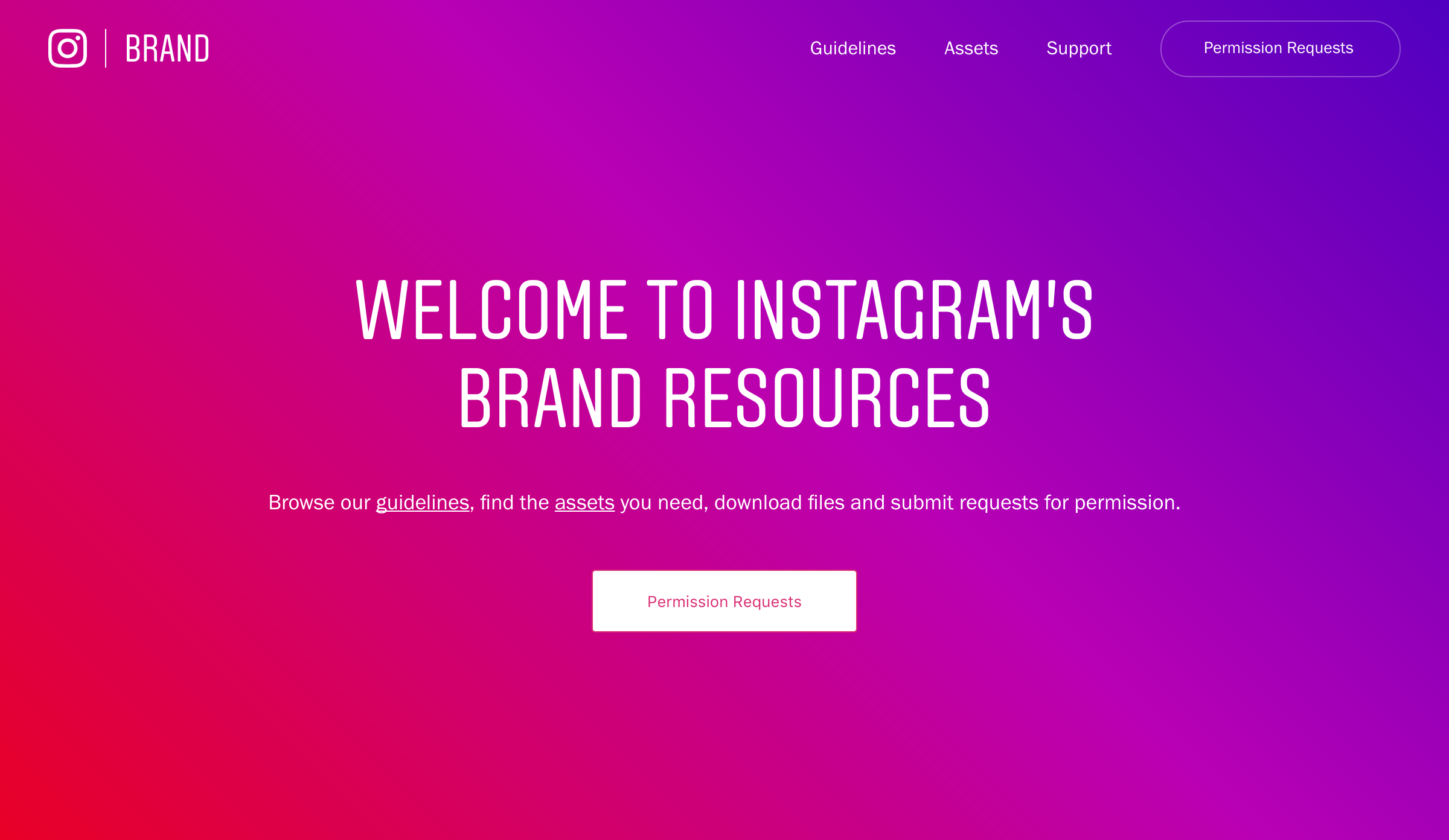 Instagram corporate identity and Stories feature - Fonts In Use