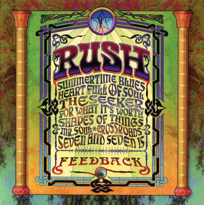 Rush – Feedback album art