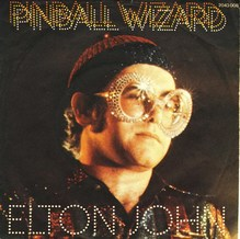 "Elton John – ""Pinball Wizard"" single cover"