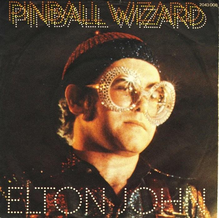 "Elton John – ""Pinball Wizard"" single cover"