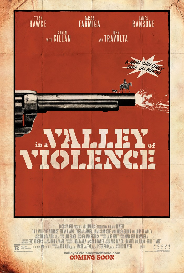 In a Valley of Violence movie posters 1