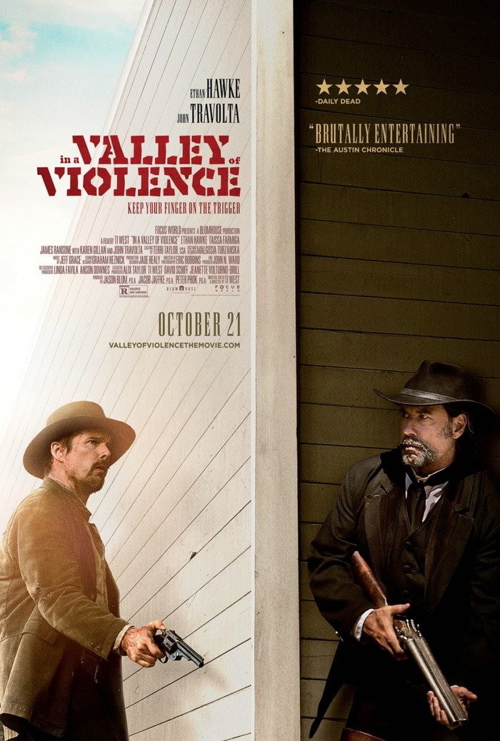 In a Valley of Violence movie posters 3