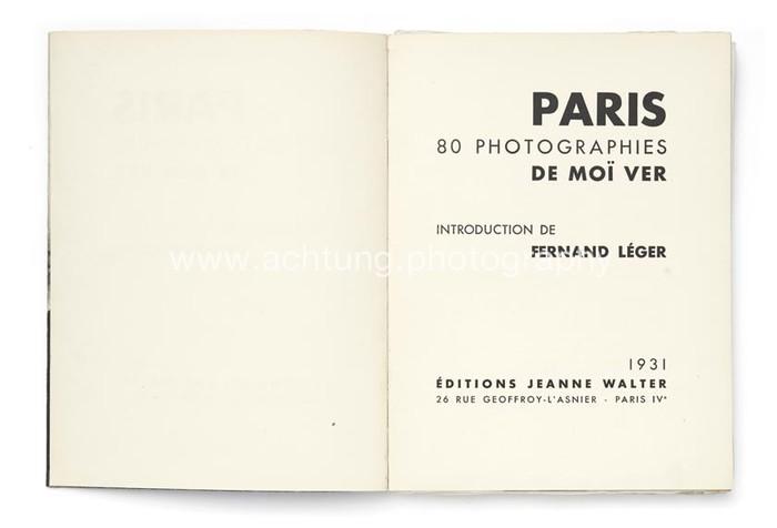 Paris, 80 photographies de Moï Ver 5