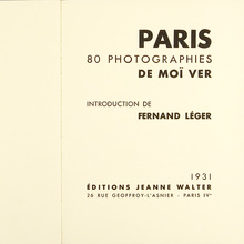 <cite>Paris, 80 photographies de Moï Ver</cite>