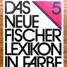 <cite>Das neue Fischer Lexikon in Farbe </cite>(1981 edition)