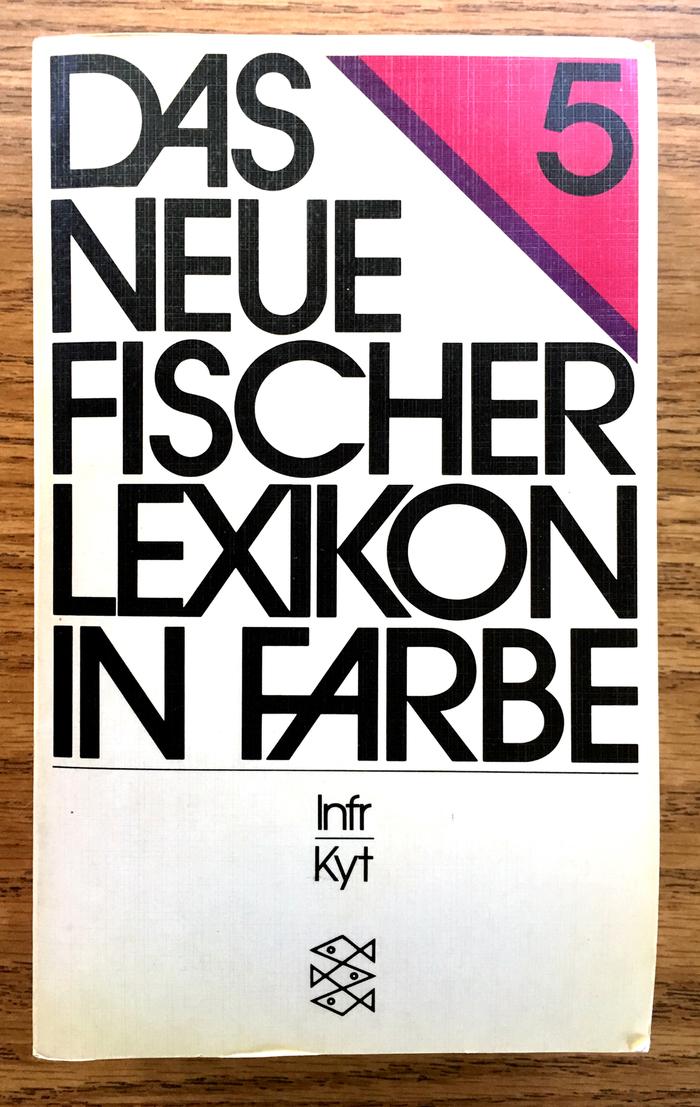 Das neue Fischer Lexikon in Farbe (1981 edition) 1