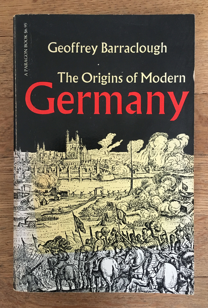 The Origins of Modern Germany, Paragon