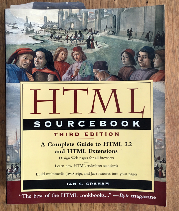 HTML Sourcebook, John Wiley and Sons