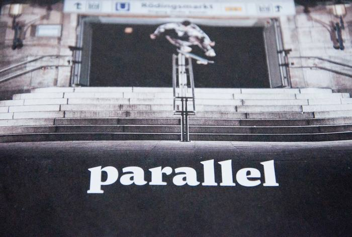 Parallel skateboarding magazine 1