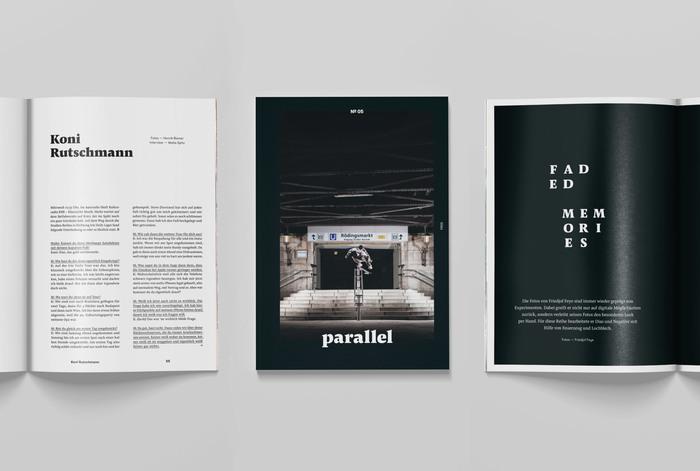 Parallel skateboarding magazine 2