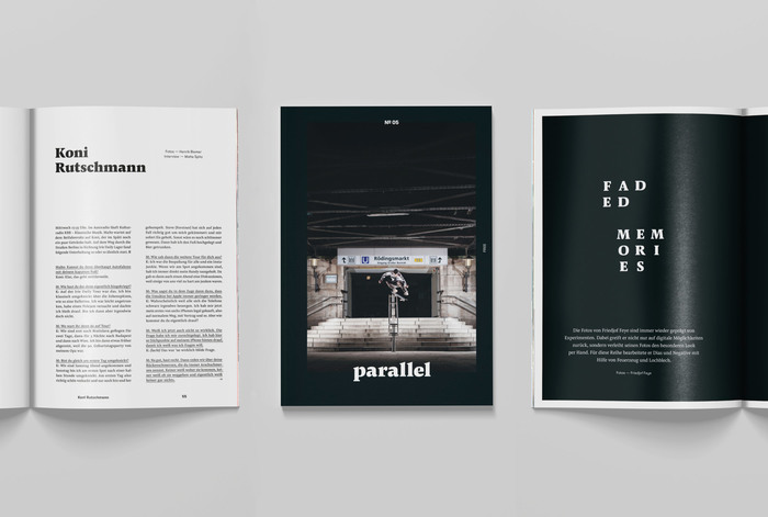 Parallel skateboarding magazine 2