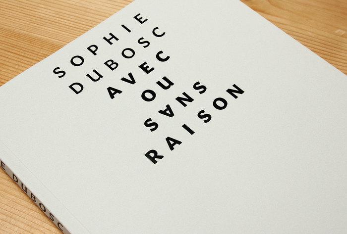 Avec ou sans raison by Sophie Dubosc 1