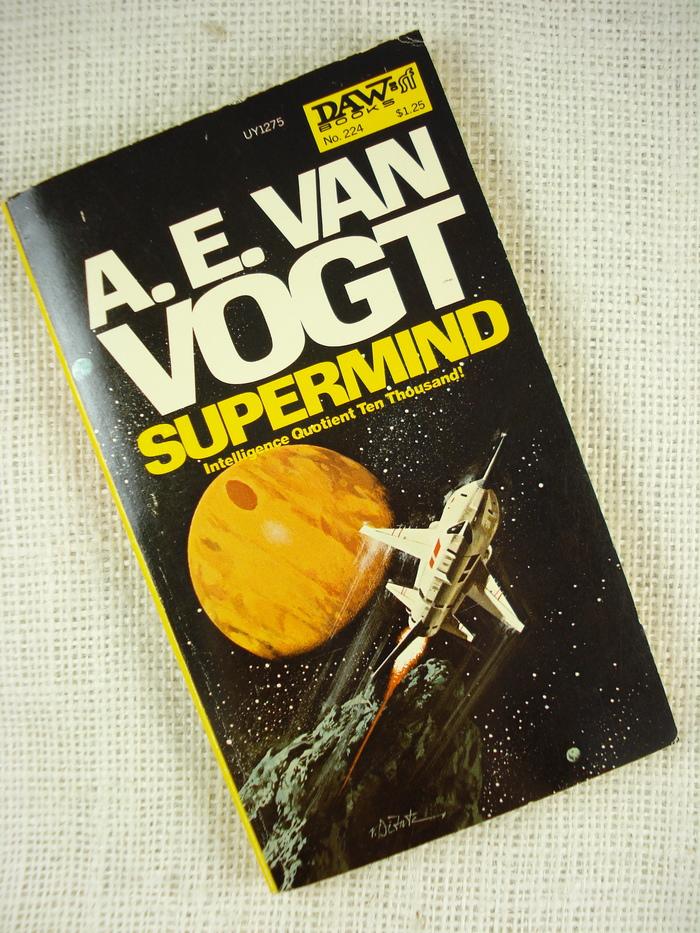 Supermind by A. E. van Vogt (DAW, 1977) 2