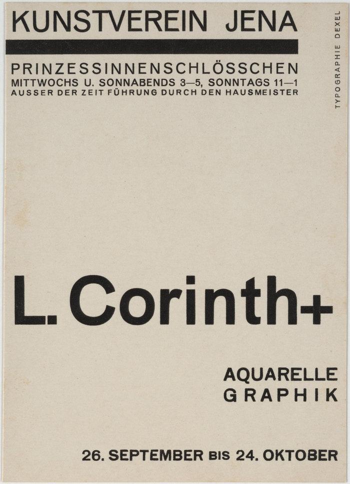 1926: Lovis Corinth
