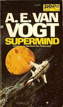 <cite>Supermind</cite> by A. E. van Vogt (DAW, 1977)
