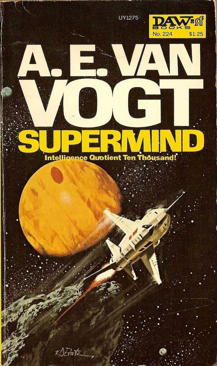 Supermind by A. E. van Vogt (1977 DAW Edition) 1