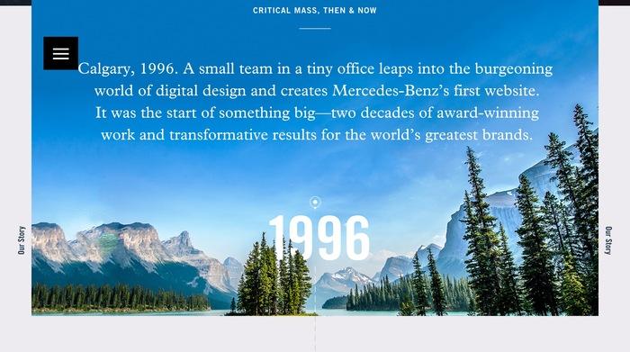Critical Mass website 2