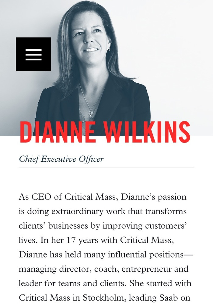 Critical Mass website 13