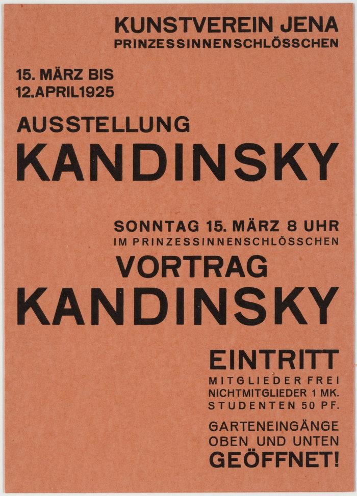 1925: Wassily Kandinsky