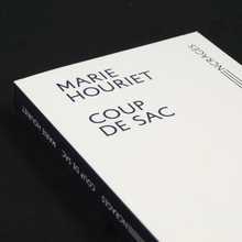 <cite>Coup de Sac</cite> by Marie Houriet, Æncrages