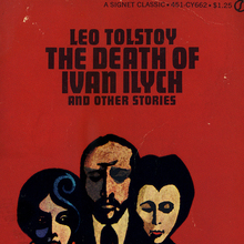 <cite>The Death of Ivan Ilych</cite> by Leo Tolstoy, book cover