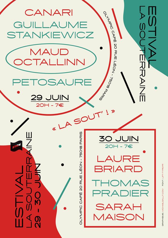 Estival La Souterraine poster