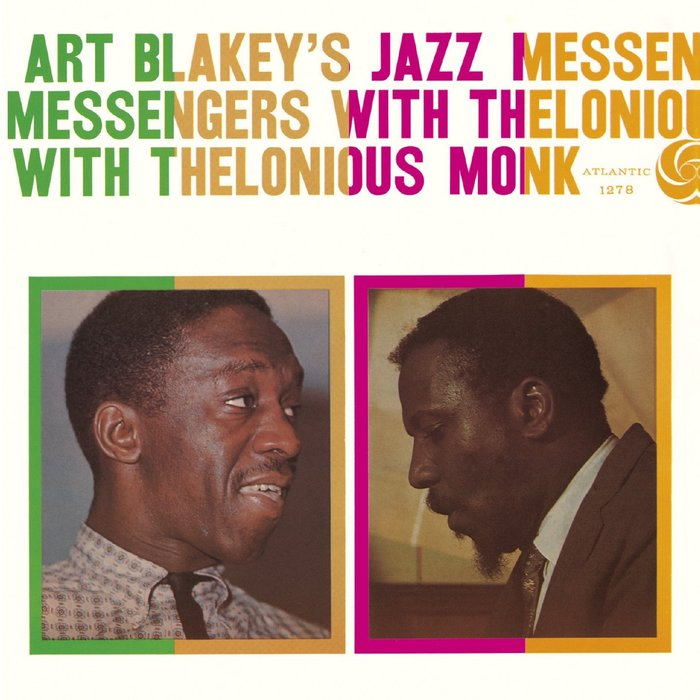 Art Blakey's Jazz Messengers With Thelonious Monk album art 1