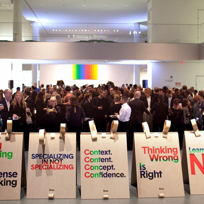 Base celebrates its 20th Anniversary at MoMA 2