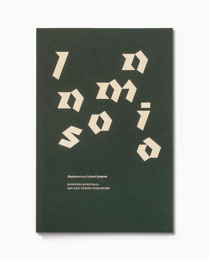 Insomnia exhibition catalogue 1