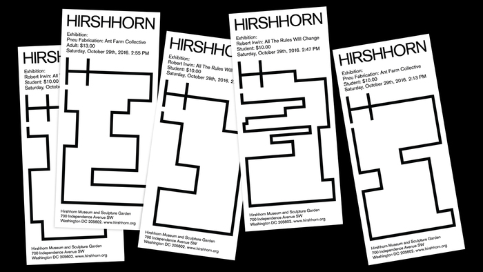 Hirshhorn Museum and Sculpture Garden identity (fictional) 2