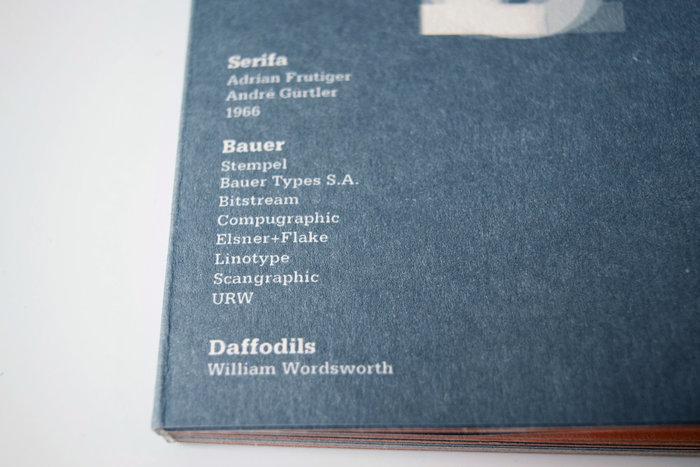 Serifa type specimen book 2