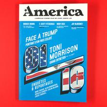 """<cite>America</cite> — <cite>L'Amérique comme vous ne l'avez jamais lue</cite>, issue no.<span class=""""nbsp""""></span>1"""