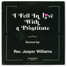 <cite>I Fell In Love With a Prostitute</cite> by Jasper Williams