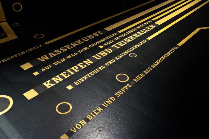 """""""Kein Bier ohne Alster"""" exhibition 4"""