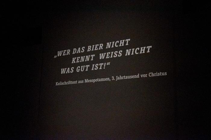 """""""Kein Bier ohne Alster"""" exhibition 5"""