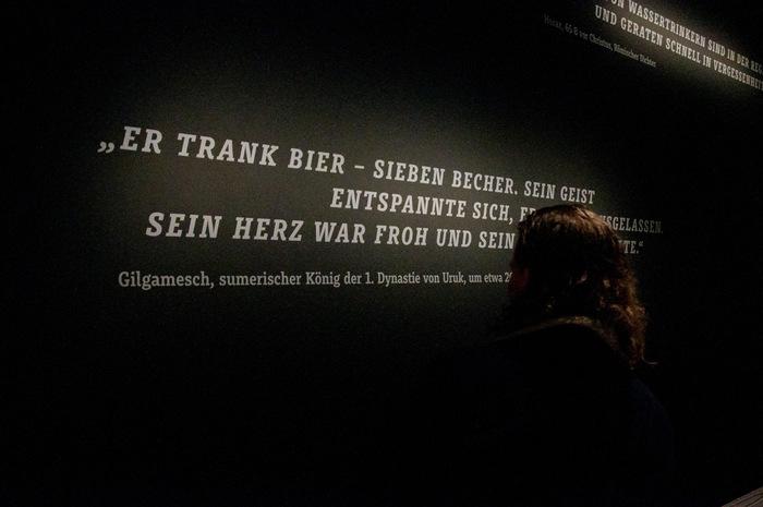 """""""Kein Bier ohne Alster"""" exhibition 7"""