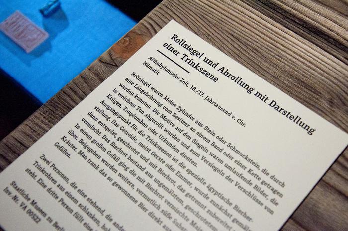 """""""Kein Bier ohne Alster"""" exhibition 8"""