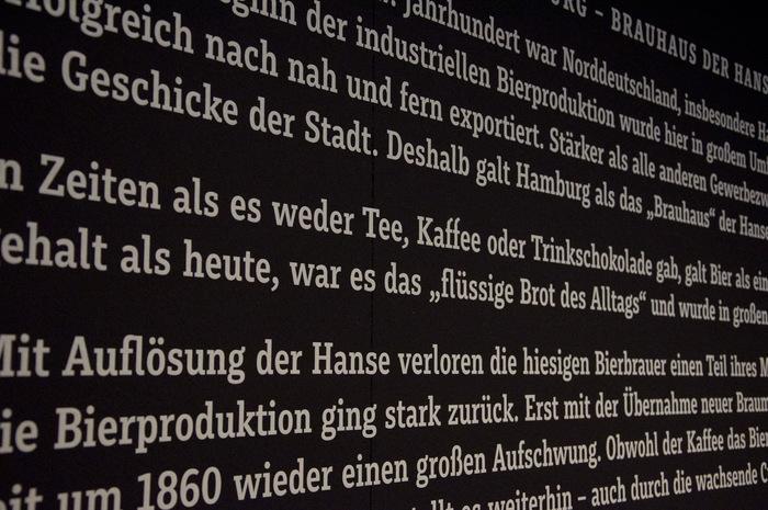 """""""Kein Bier ohne Alster"""" exhibition 11"""