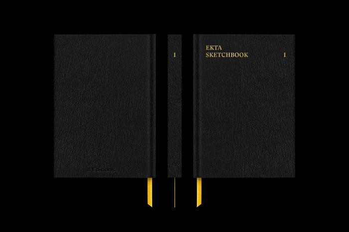 Ekta Sketchbooks I–III 3