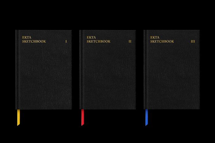 Ekta Sketchbooks I–III 1