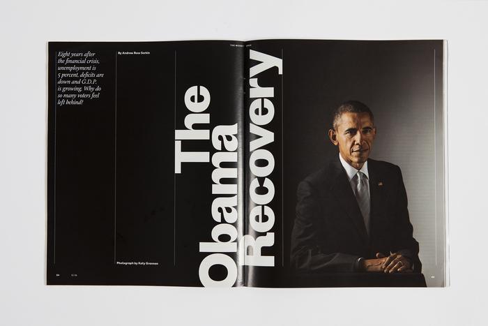 The New York Times Magazine, 2016 Money Issue 2