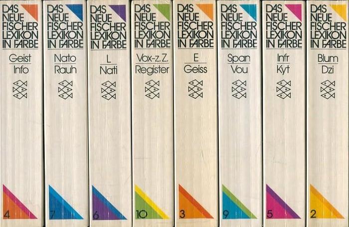 Das neue Fischer Lexikon in Farbe (1981 edition) 4