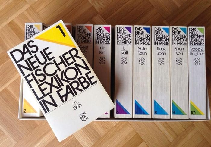 Das neue Fischer Lexikon in Farbe (1981 edition) 2